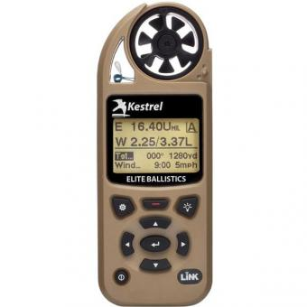 Kestrel 5700 Elite Meter with Applied Ballistics and LiNK Tan