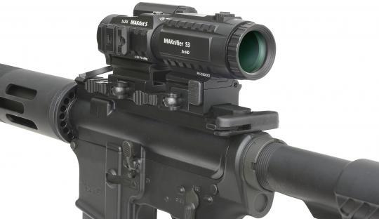 MAKnifier S3 mit MAKflip Montage
